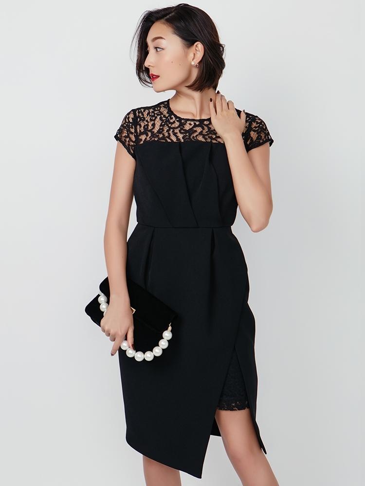 LAGUNAMOON LADYカッティングレングスドレス